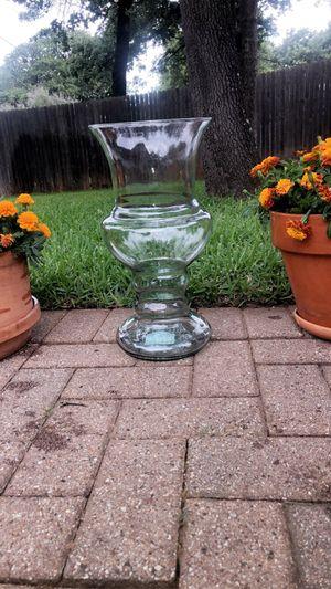 elegant brand new glass flower vase for Sale in Kennedale, TX