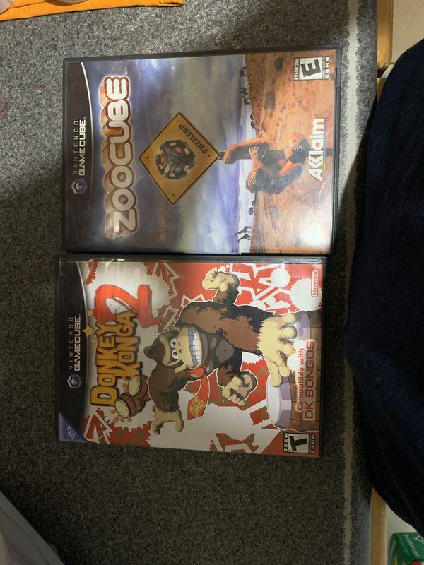 GameCube Games: Donkey Konga 2 and ZooCube