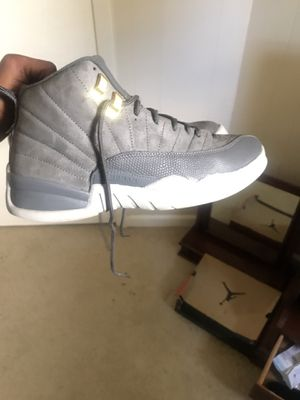 Jordan 12 wolf grey for Sale in College Park, MD