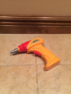 Battery powered play drill for toddlers for Sale in Holmdel, NJ