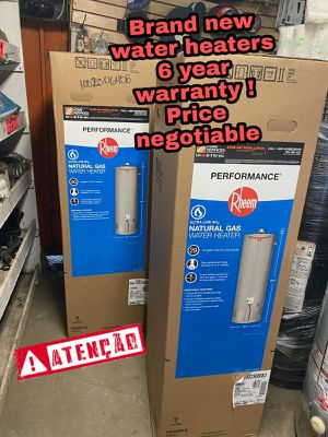 Brand New water heater with 6 year warranty for Sale in Los Angeles, CA