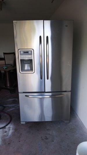 Maytag stainless steel fridge bottom freezer for Sale in Orlando, FL