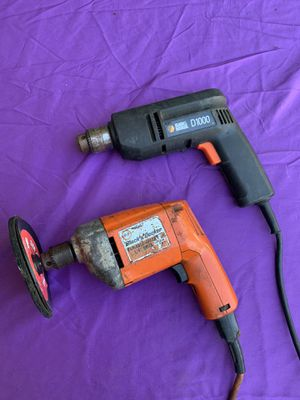 Pair Of Black & Decker Drills / Just $20 For Both for Sale in Ocala, FL