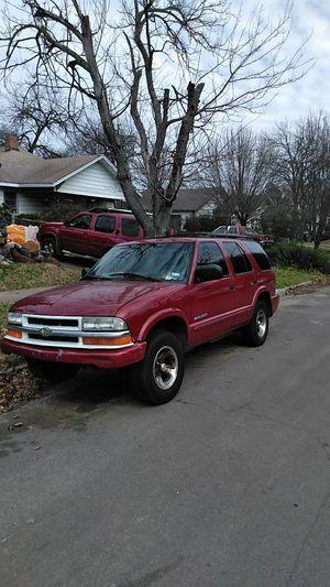2002 chevy blazer for Sale in Dallas, TX