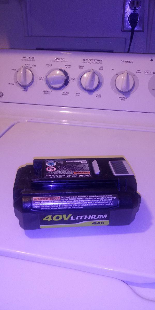40 volt ryobi 4h battery