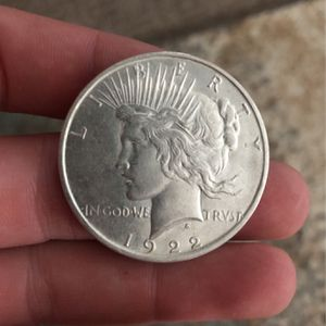 3, 1922 Peace Silver Dollars (Collectors Item) $35 Each for Sale in Torrington, CT