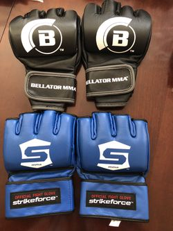 new Bellator and Strikeforce MMA gloves lot UFC for Sale in Henderson,  NV