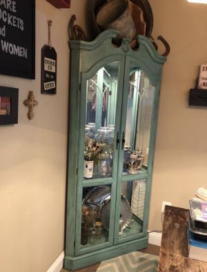 Corner Curio Cabinet for Sale in Olney, MD