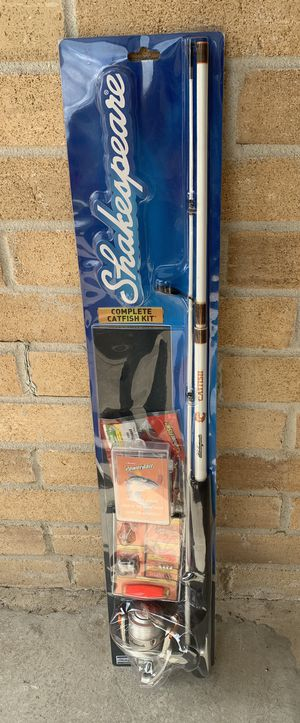 Shakespeare Complete Catfish Combo Kit Fishing Rod for Sale in Sugar Land, TX