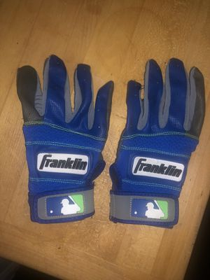 Franklin Youth baseball batting gloves. Size youth large. Excellent condition. Like new. Worn once. No stains...no rips. for Sale in La Puente, CA