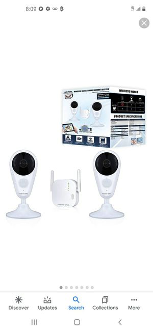 New in box night owl security system for Sale in Puyallup, WA