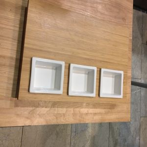 12 x 16 inch serving tray with 3 compartments for Sale in Los Angeles, CA