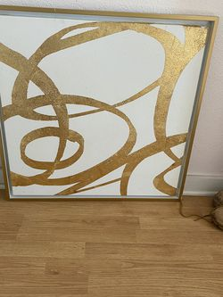 Large Gold & White Wall Decor for Sale in Leander,  TX