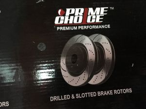 Drilled and Slotted break rotors and Pads kit for Sale in Warren, MI