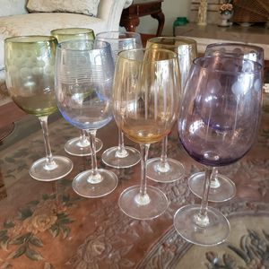 Wine Glass Set for Sale in Branford, CT