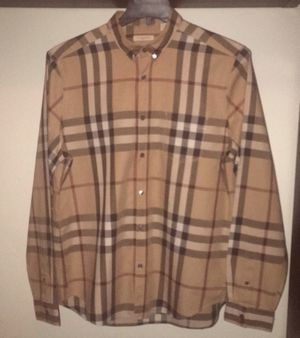 BURBERRY MENS SHIRT XL AUTHENTIC for Sale in Philadelphia, PA