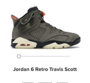 Air Jordan retro Travis scott for Sale in Des Plaines, IL
