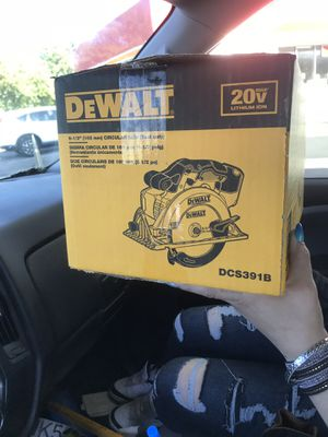 20v Dewalt circular saw new In box for Sale in Indianapolis, IN