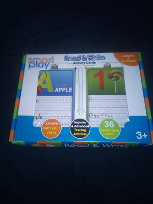 Smart play read and write activity cards like new for Sale in Phoenix, AZ