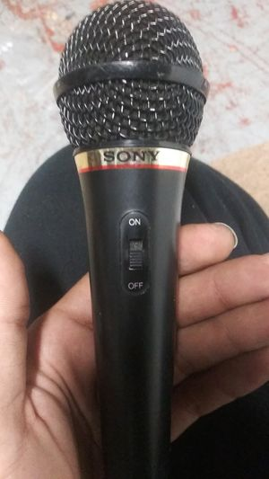 Sony aux microphone for Sale in Philadelphia, PA