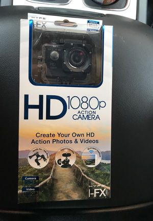 Hype I-FX HD 1080p Action Camera for Sale in Bonham, TX