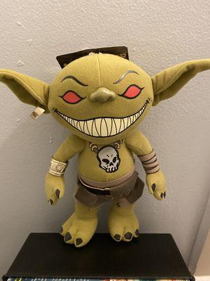 Licktoad goblin plush for Sale in Miami, FL