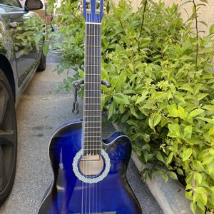 blue fever classic acoustic guitar for Sale in Downey, CA