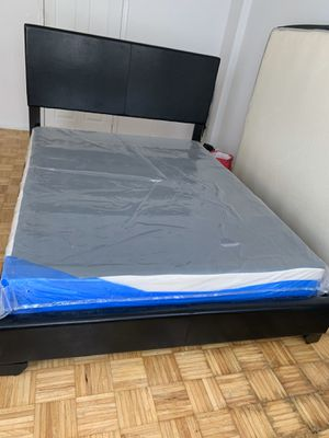 Queen Size Bed Frame Only (Box spring not included) for Sale in Newark, NJ