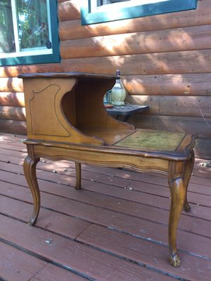 Antique End Tables Pair for Sale in Crestline, CA