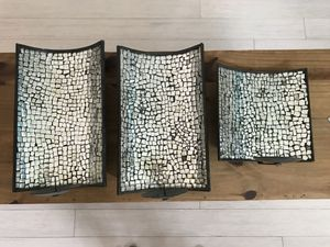 Mirrored Wall Mount Candle Holders Art for Sale in Fort Lauderdale, FL