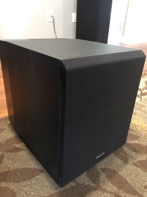 Sony CS9 powered subwoofer for Sale in Tampa, FL