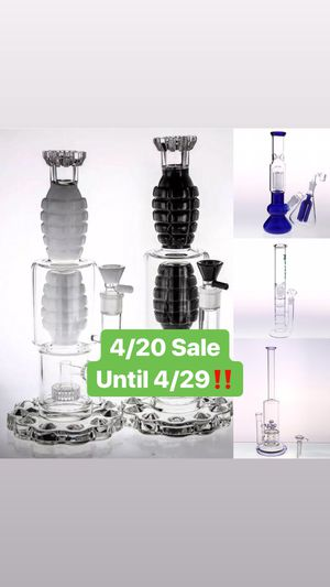 Bongs, Rigs, Ash Catchers free shipping! for Sale in Miami, FL