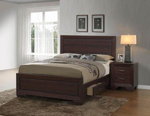 (JUST $54 DOWN) Brand New Beautiful Queen Storage Bed (Financing and Delivery available) for Sale in Carrollton, TX