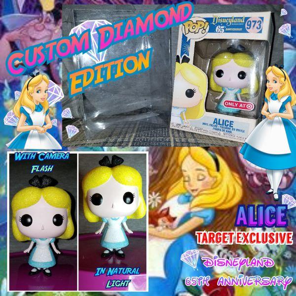 Funko Pop Alice Custom Diamond Edition
