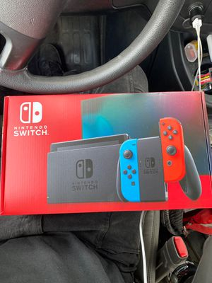 "Nintendo Switch ""NEWEST MODEL"" red/blue joycon for Sale in Mount Laurel Township, NJ"