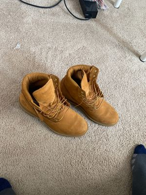 Timberland Boots, All brown for Sale in Derwood, MD