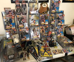 Marvel Legends ToyBiz + Star Wars Transformers Family Guy Halo 3 McFarlane AmeComi for Sale in Alhambra, CA