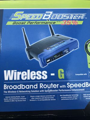 Wireless router Linksys for Sale in Mt. Juliet, TN