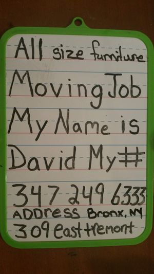 Moving men for Sale in The Bronx, NY