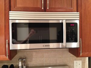 Stainless Steak Bosch Over-The-Range Microwave for Sale in Portland, ME