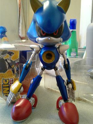 Rare Jazwares 10 inch Metal Sonic figure for Sale in Montebello, CA
