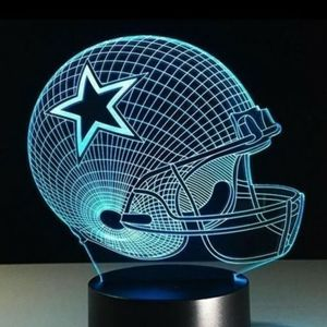 Dallas Cowboys NFL Night Light Lamp for Sale in Evesham Township, NJ