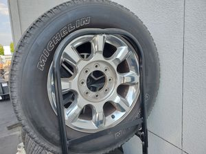 20 inch F250 wheels and Michelin tires. for Sale in Irvine, CA