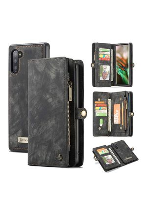 (W21) AKHVRS Galaxy Note 10 Wallet Case,Premium Leather Folding Flip Wallet Case Cover with Card Slots Magnetic Closure Protective Cover Detachable for Sale in Hacienda Heights, CA