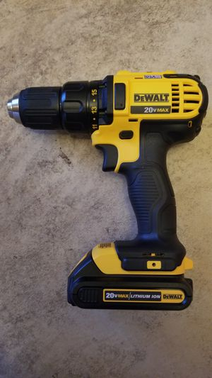 New Dewalt 20-Volt MAX Lithium-Ion 1/2 in. Drill/Driver (DCD780) for Sale in Hemet, CA