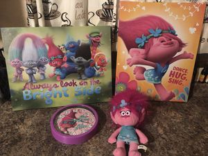 Trolls room decor for Sale in Columbus, OH