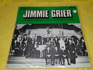 Jimmie Grier vinyl record album jazz 1932 for Sale in Downey, CA