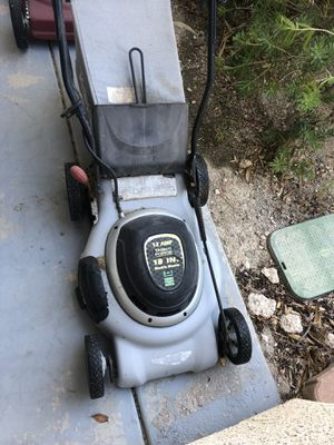 Electric mower $70 for Sale in Las Vegas, NV