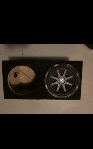 """2 10"""" Subwoofer Enclosure Box for Sale in Margate, FL"""