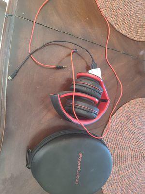 Power locus Bluetooth headphones for Sale in El Cajon, CA